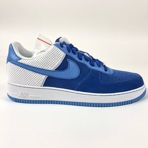 Nike Air Force 1 07 Varsity Royal Shoes 315122-441